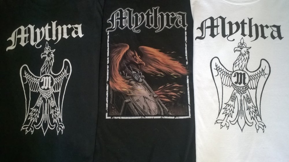 Image of Mythra Tee Shirts in Black or White