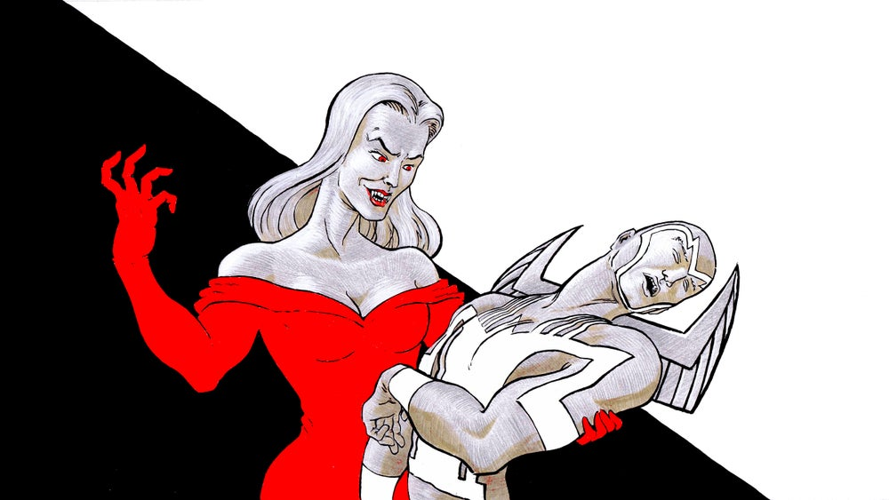 Image of Archangel and the vampire