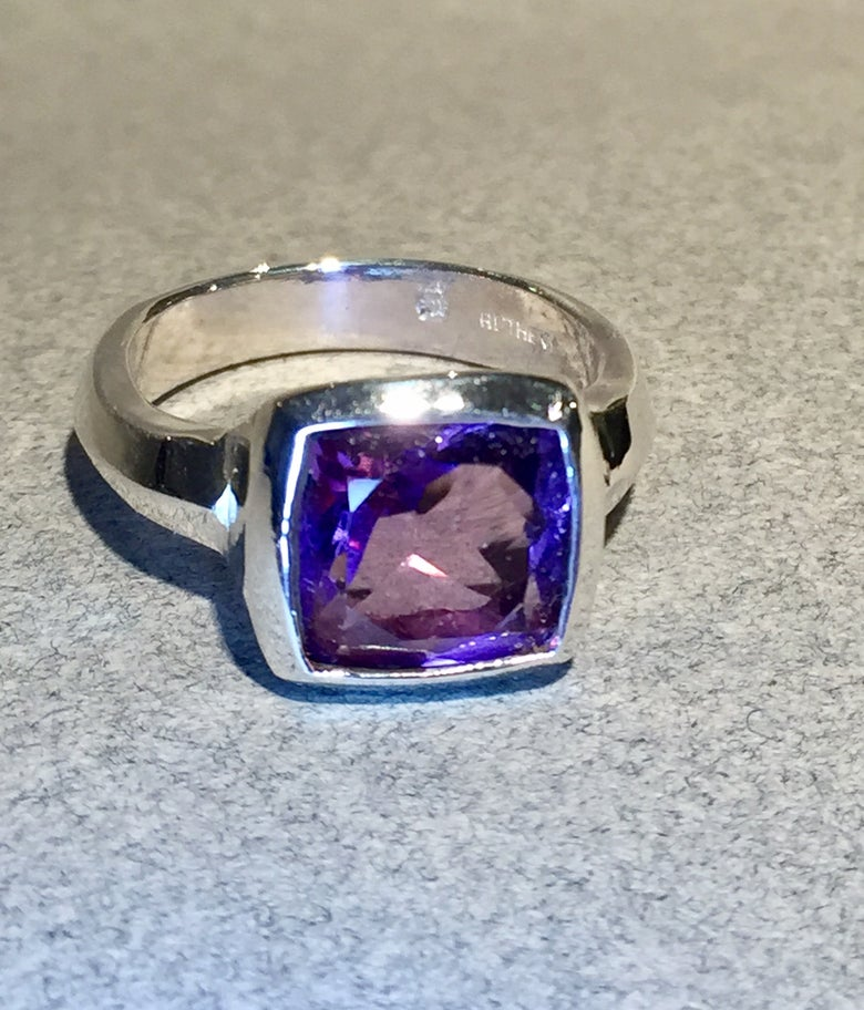 Image of Amethyst Ring
