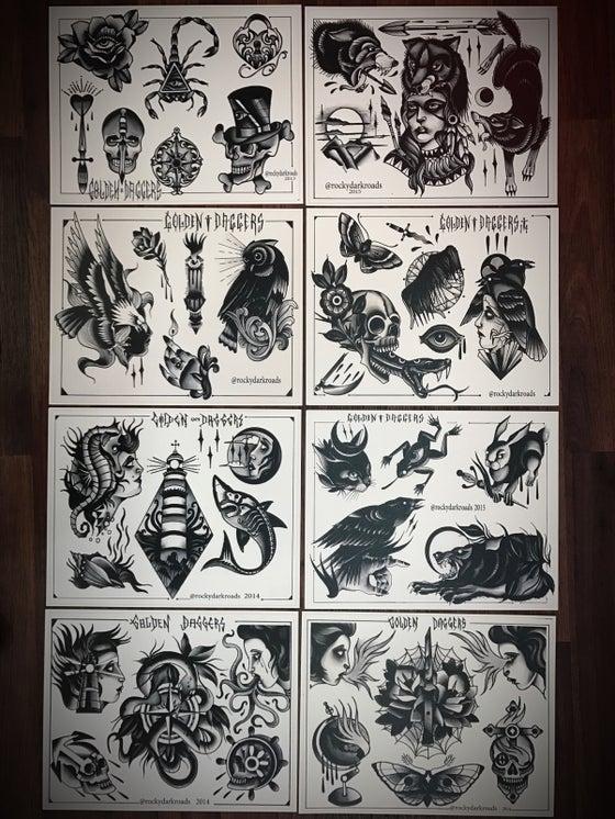 Image of Tattoo Flash Set