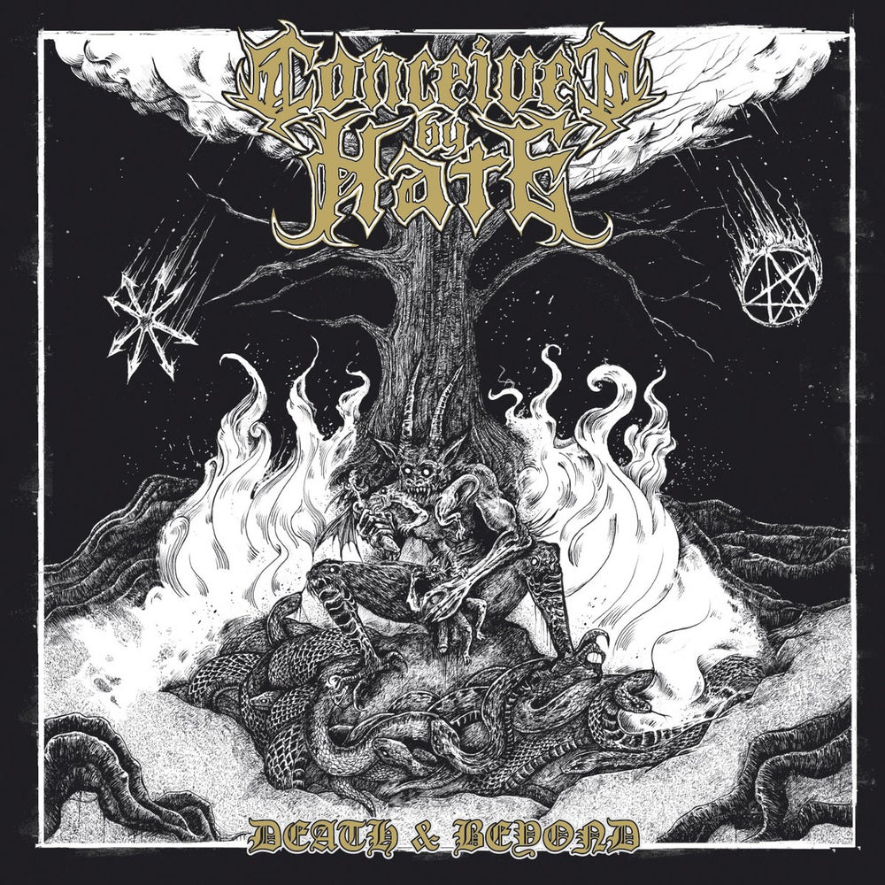 """Image of CONCEIVED BY HATE  """" Death and Beyond """" CD"""