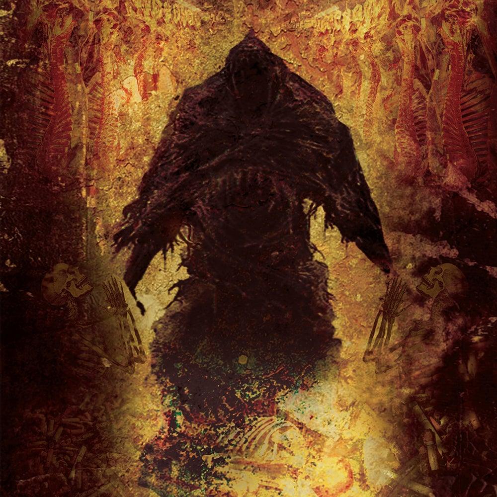 "Image of Ash Mouth/Unravel split 7"""