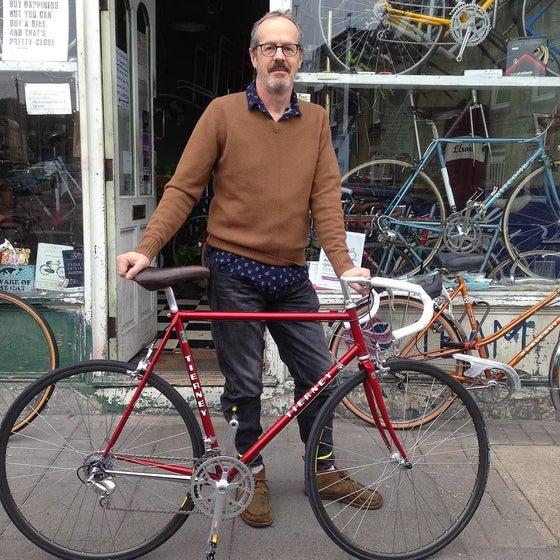 Image of Julian's  custom built Tierney.