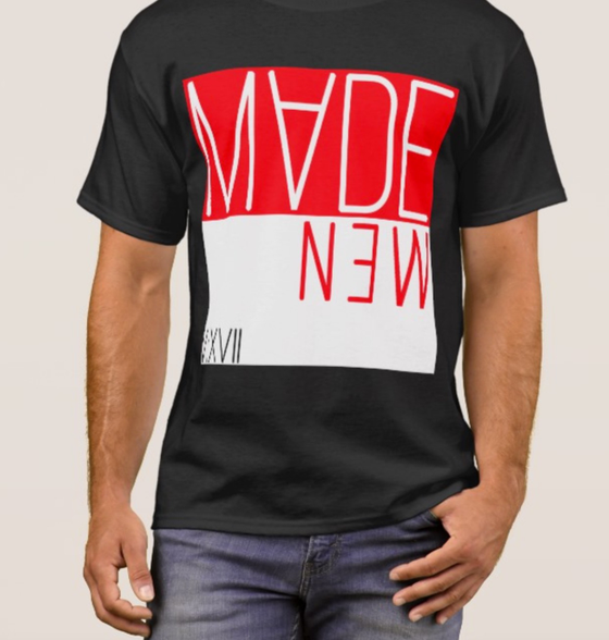 Image of I Am Made New (Red & White) T-Shirt