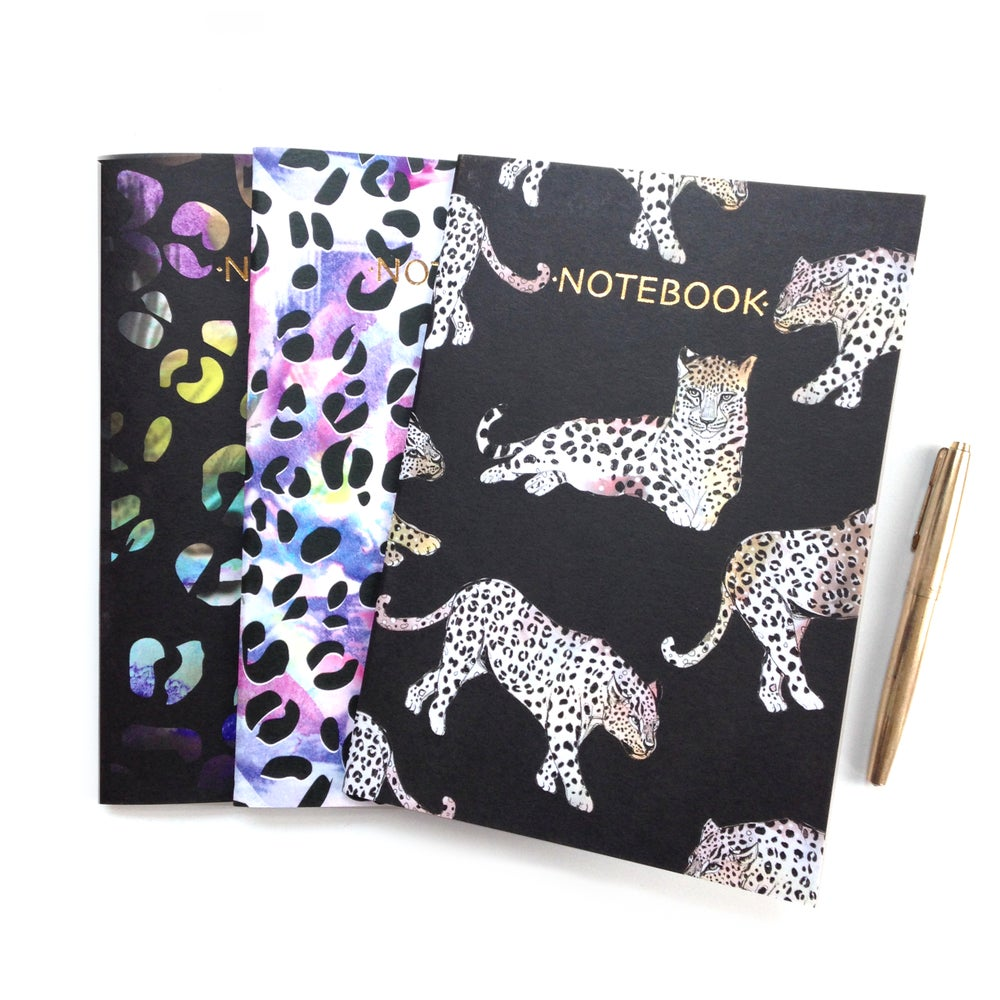 Image of Leopard Notebooks