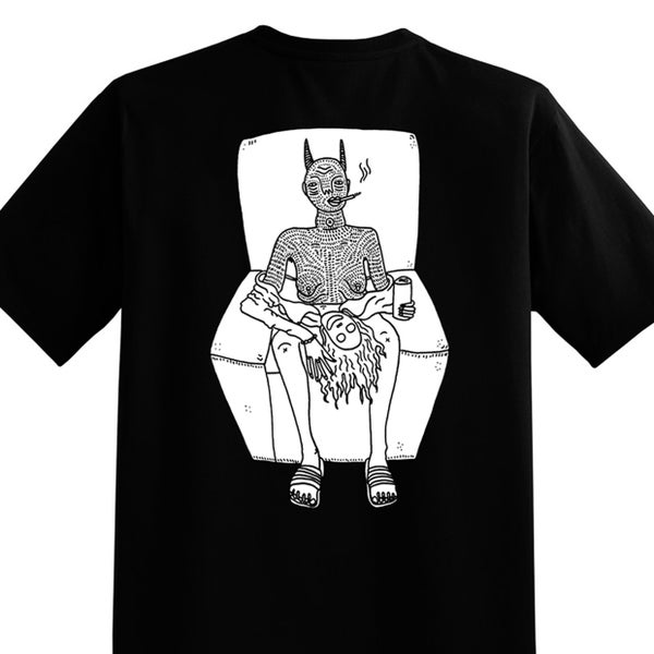 Image of CBA - Black and white - Unisex T - By Polly Nor