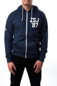 Image of Zack Sabre Jr. 'GREAT BRITAIN' Full Zip Hoodie