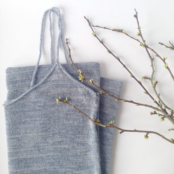 Image of Simple Basic Top // Dusty Blue