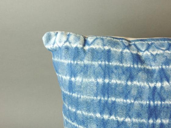 Image of Handwoven Shibori Pillow