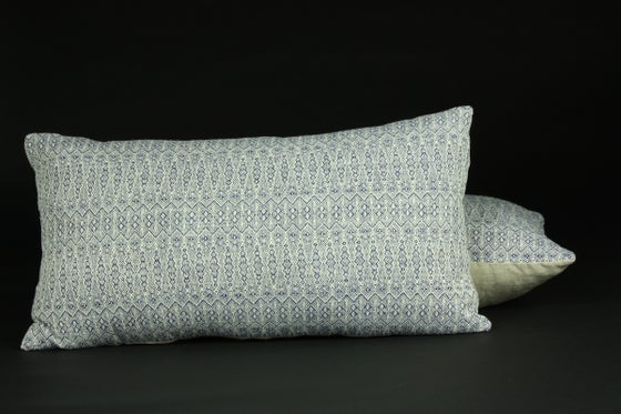 Image of Handwoven accent pillow