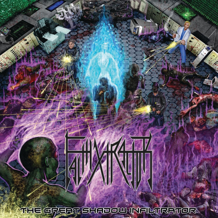 """Image of FAITHXTRACTOR """" The Great Shadow Infiltrator """" CD"""