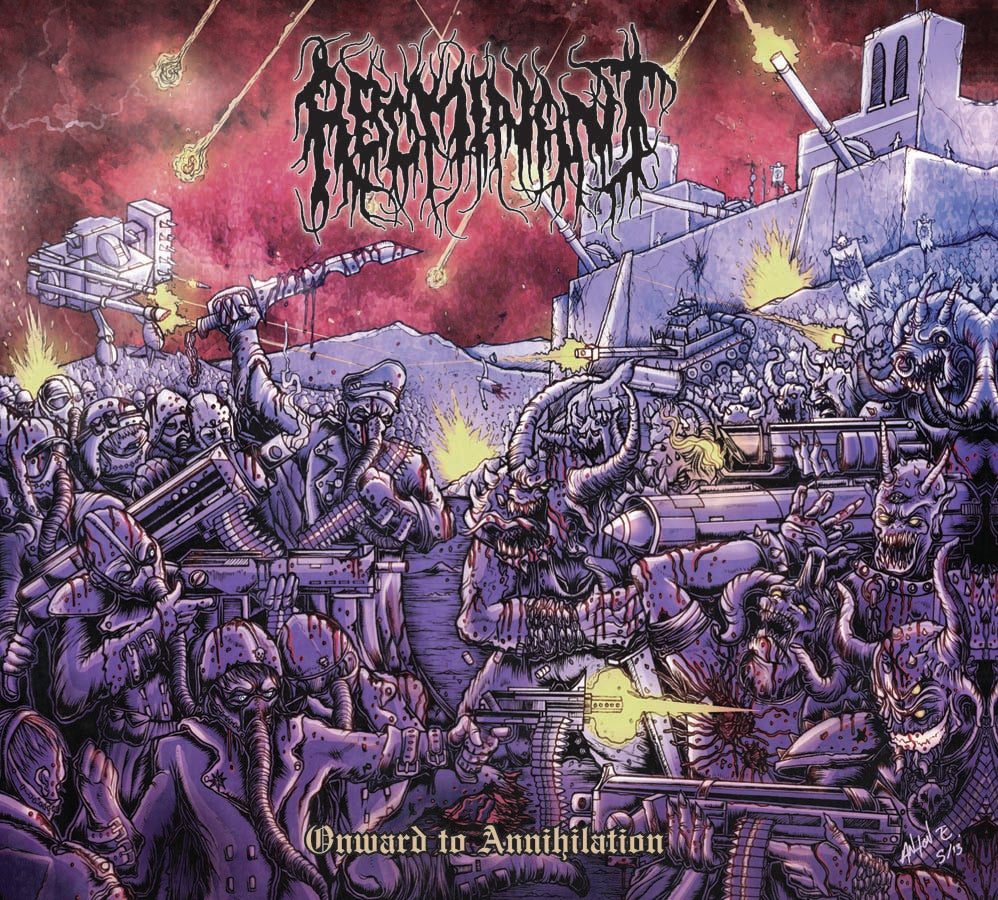 "Image of ABOMINANT "" Onward To  Annihilation  "" CD"