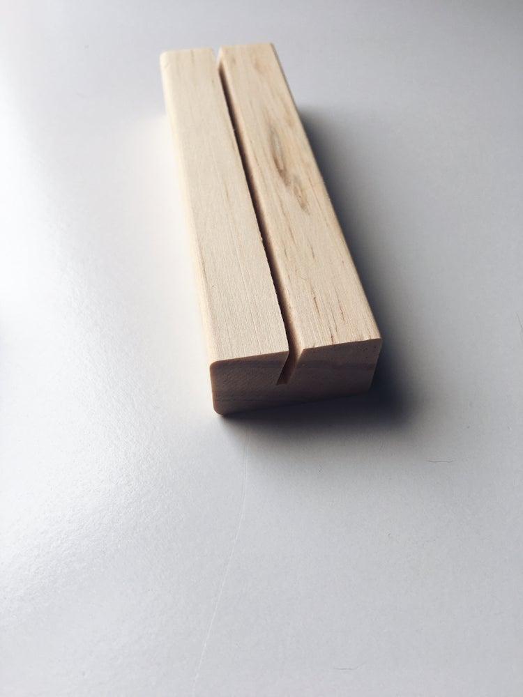 Image of Wood Photo Block