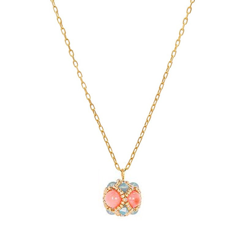 Image of Pink Coral Empire Pendant