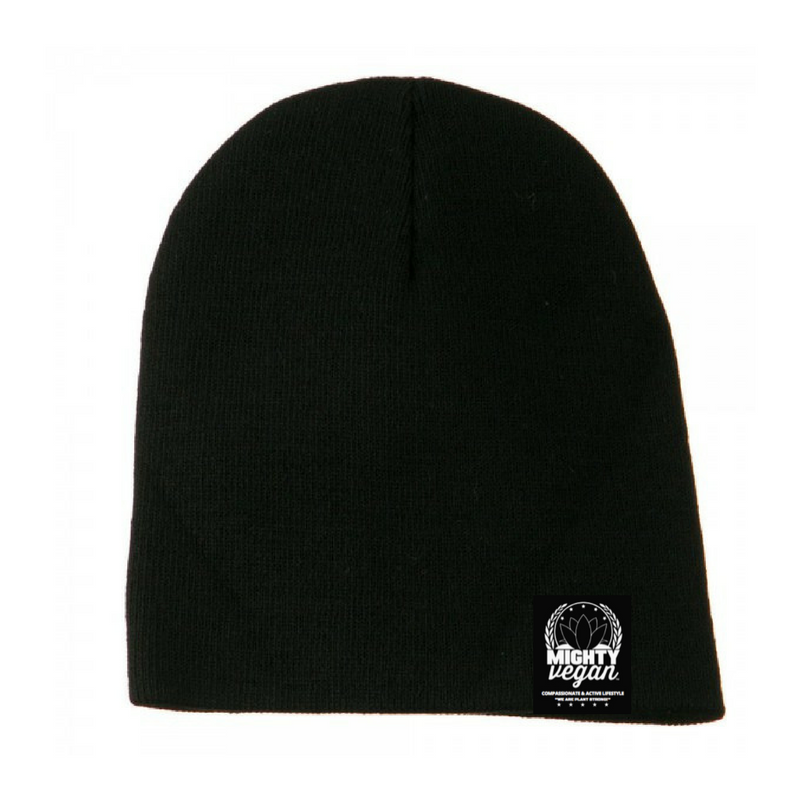 Image of MVA BLACK BEANIE