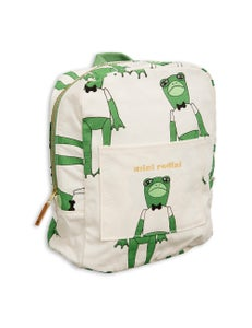 Image of Frog backpack, green, Mini Rodini