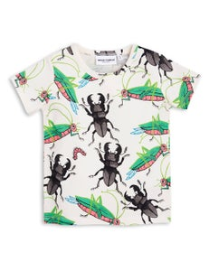 Image of Insects ss tee, off white, Mini Rodini
