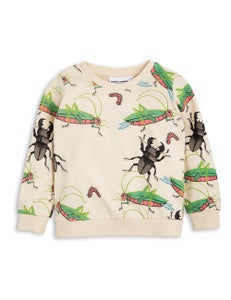 Image of Insects sweatshirt, beige, Mini Rodini