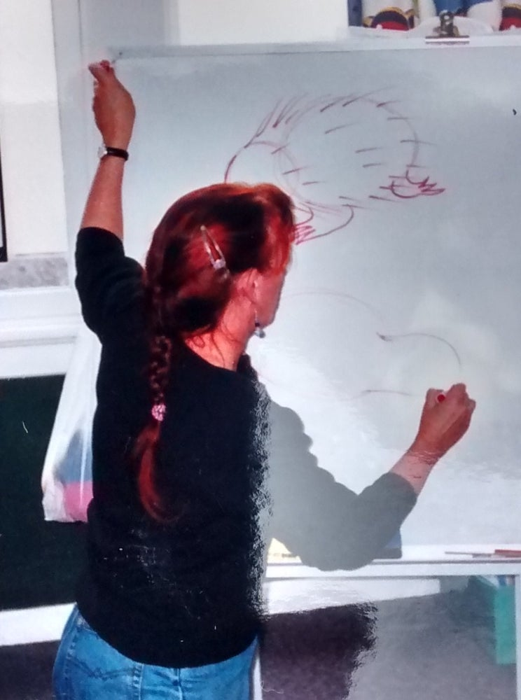 Image of Author/illustrator school visit
