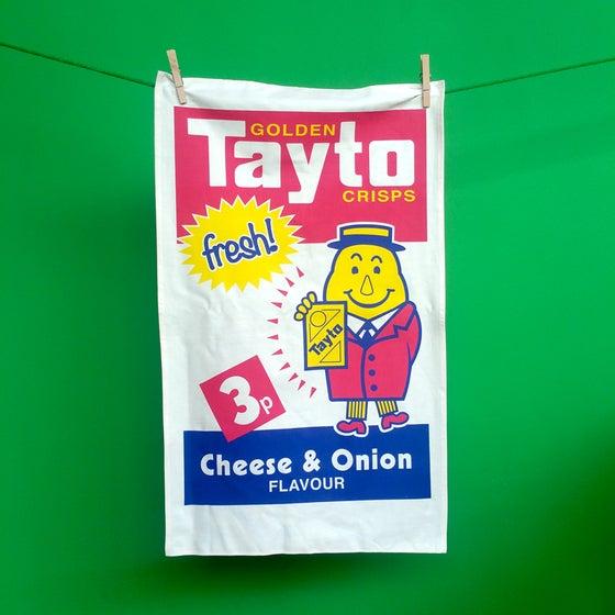 Image of Tayto tea towel