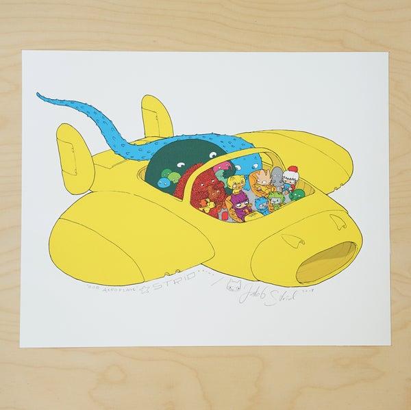 Image of OUR AEROPLANE · Kunstprint