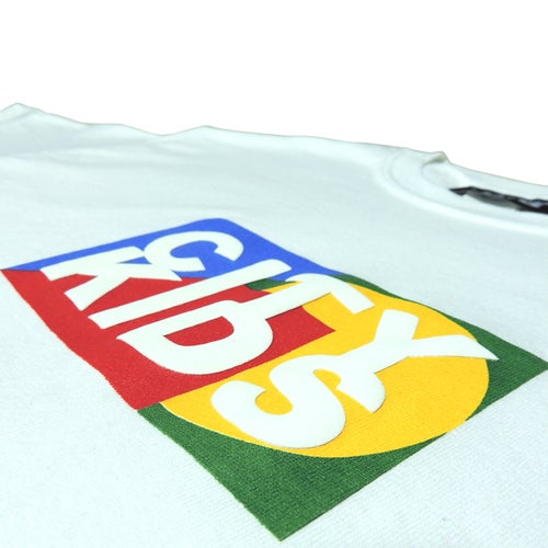 Image of Box Logo Tee - White