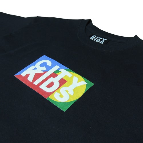 Image of Box Logo Tee - Black