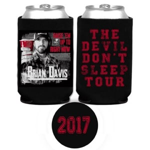 """Image of BD """"RAISE EM UP TO RIGHT NOW"""" 2017 Tour Koozie"""