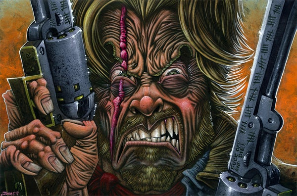 Image of 'Outlaw Josey Wales' Original Painting