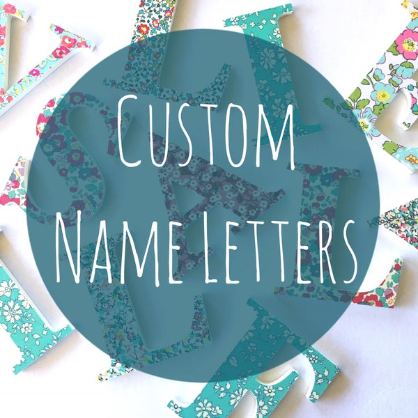 Image of Name Letters - Custom