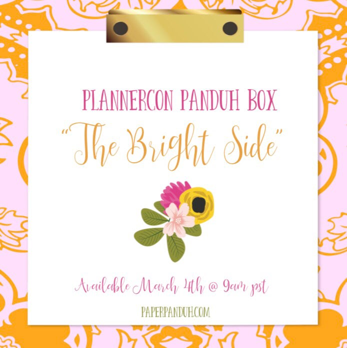 "Image of ""The Bright Side"" PLANNERCON Panduh Box"
