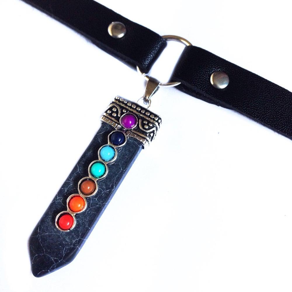 Image of Chakra Sword O-ring Choker