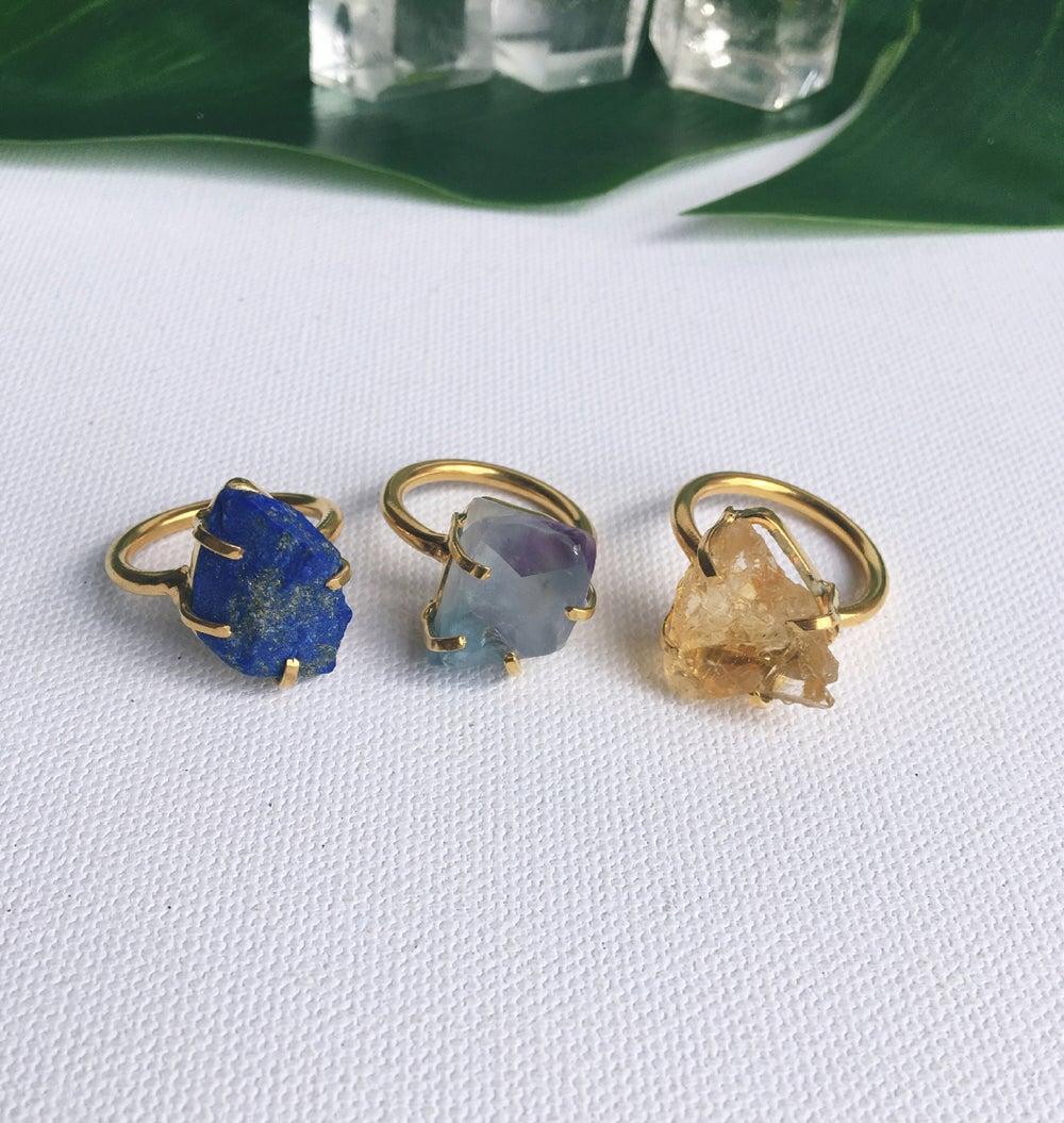 Image of POWER Crystal Rings