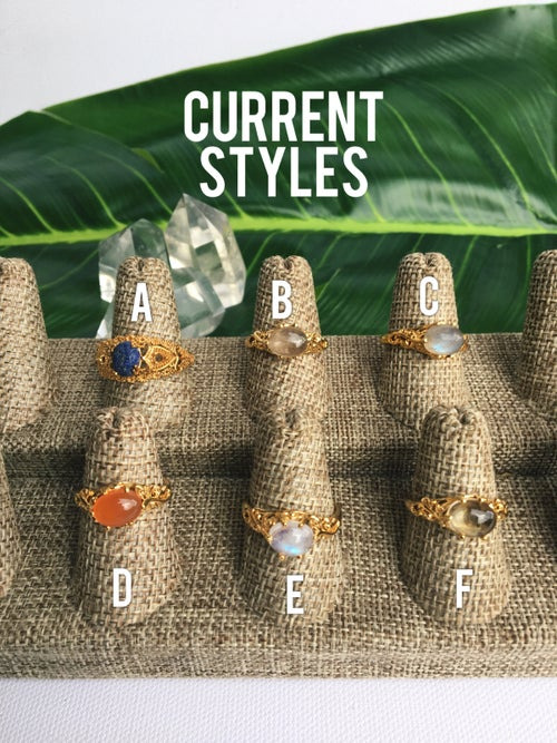 Image of SMALL WONDERS • Crystal Rings
