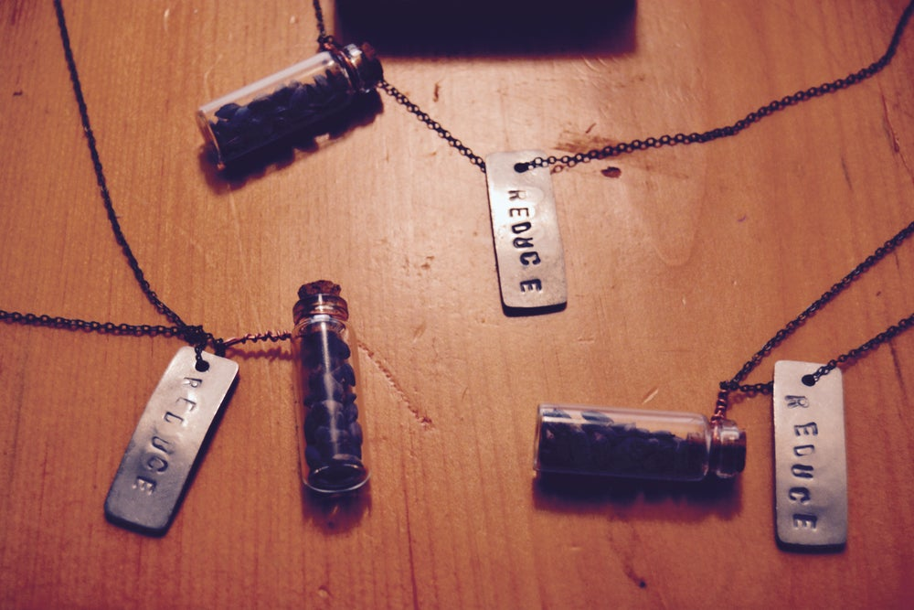 Image of PROJECT REFORESTATION [REDUCE] NECKLACE