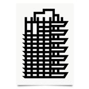 Image of Barbican Estate Tower print