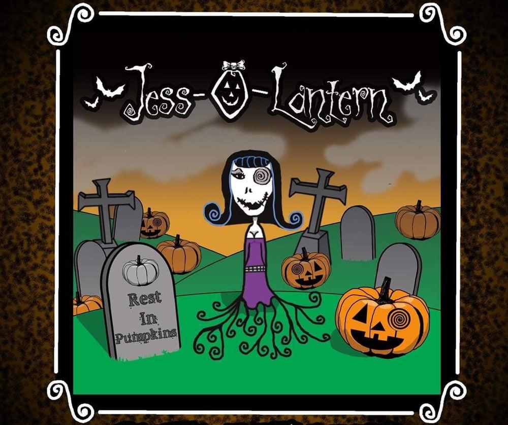 """Image of Jess-O-Lantern """"REST IN PUMPKINS"""" CD"""