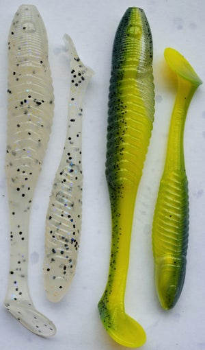 Image of 3.5 inch Galaxies paddle tails (8 pack)