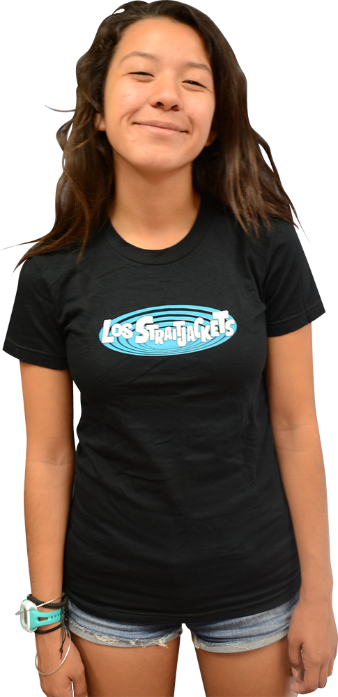 Image of LOS STRAITJACKETS LADIES LOGO T-SHIRT
