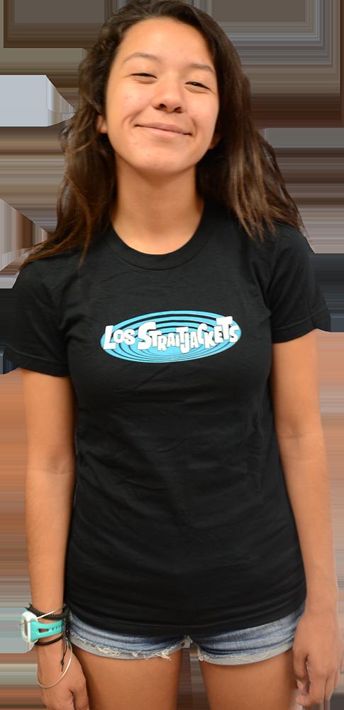 Image of LOS STRAITJACKETS LOGO UNISEX T-SHIRT