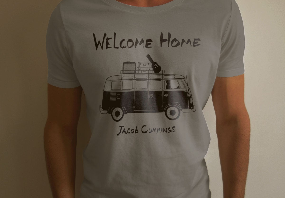 Image of Jacob Cummings Welcome Home T-Shirt
