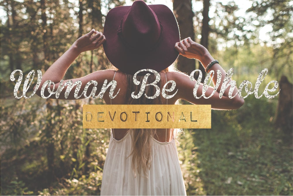 Image of Woman Be Whole Sessions & Devotionals