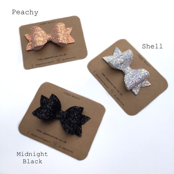 Image of Glitter Hair Bows