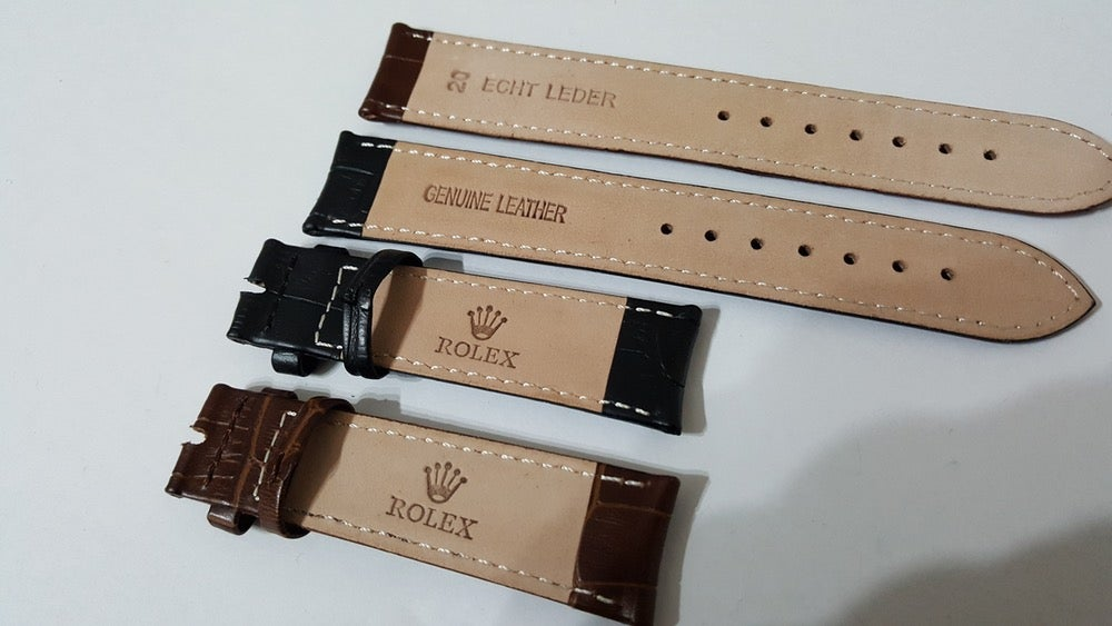 Auto Parts Online >> CLASSIC TIME PARTS — GENUINE ROLEX LEATHER STRAP WITHOUT BUCKLE