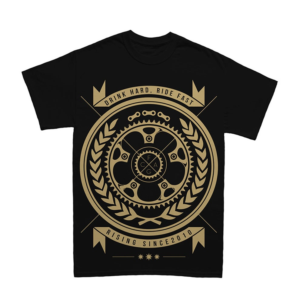 "Image of ""ATTITUDE"" T-Shirt Black"