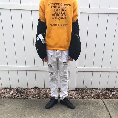 Image of Who else will we lose to Suicide? Hoodie