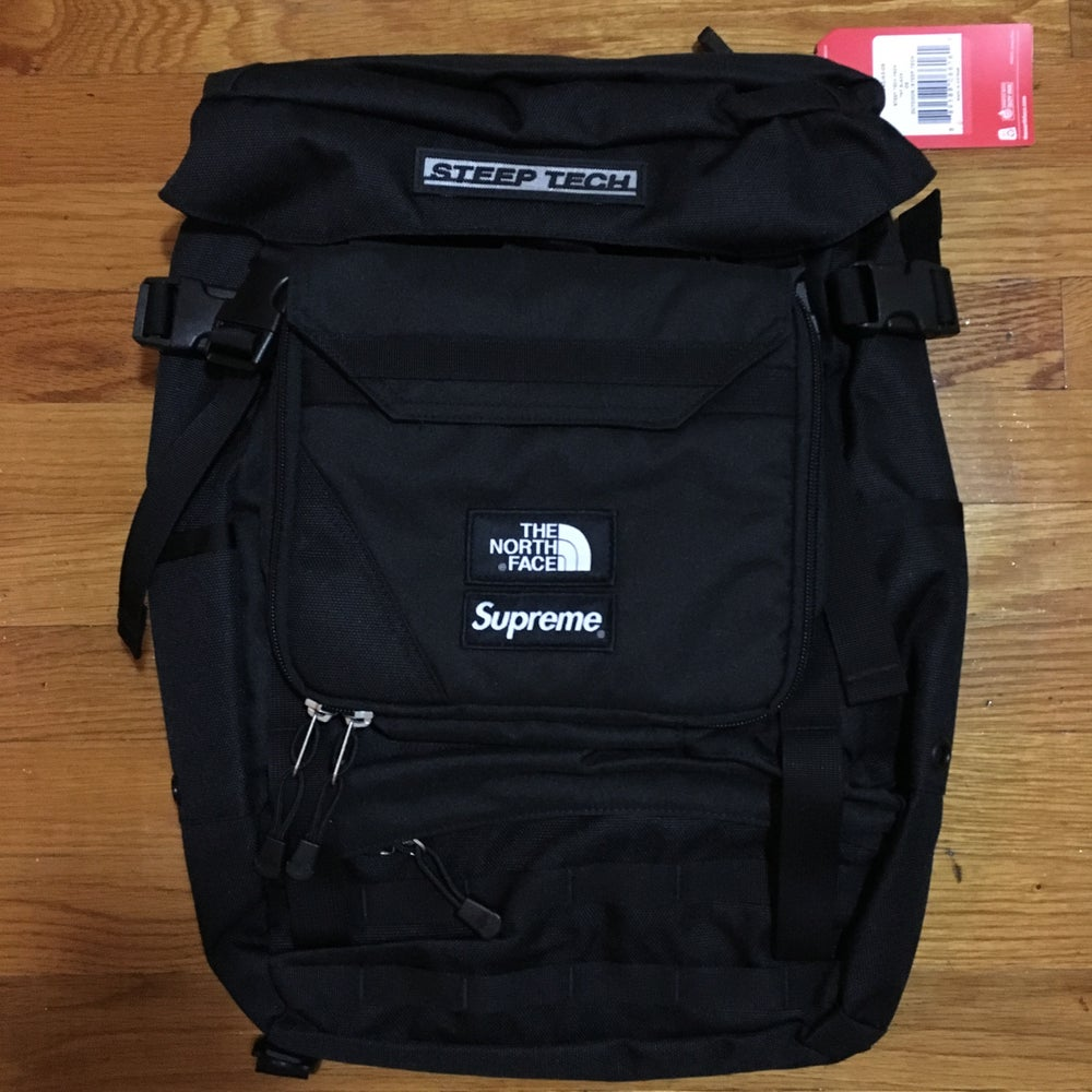Image of Supreme x The North Face Steep Tech Bookbag SS16
