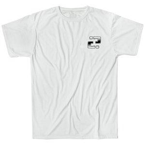 Image of Confusion - BACKYARD DIY t-shirt  [white]