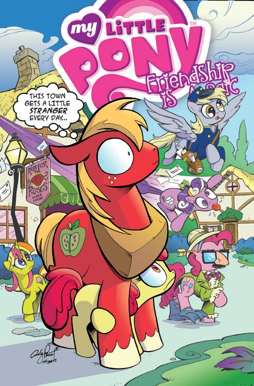 Image of Big Macintosh in Ponyville - Open Edition Print