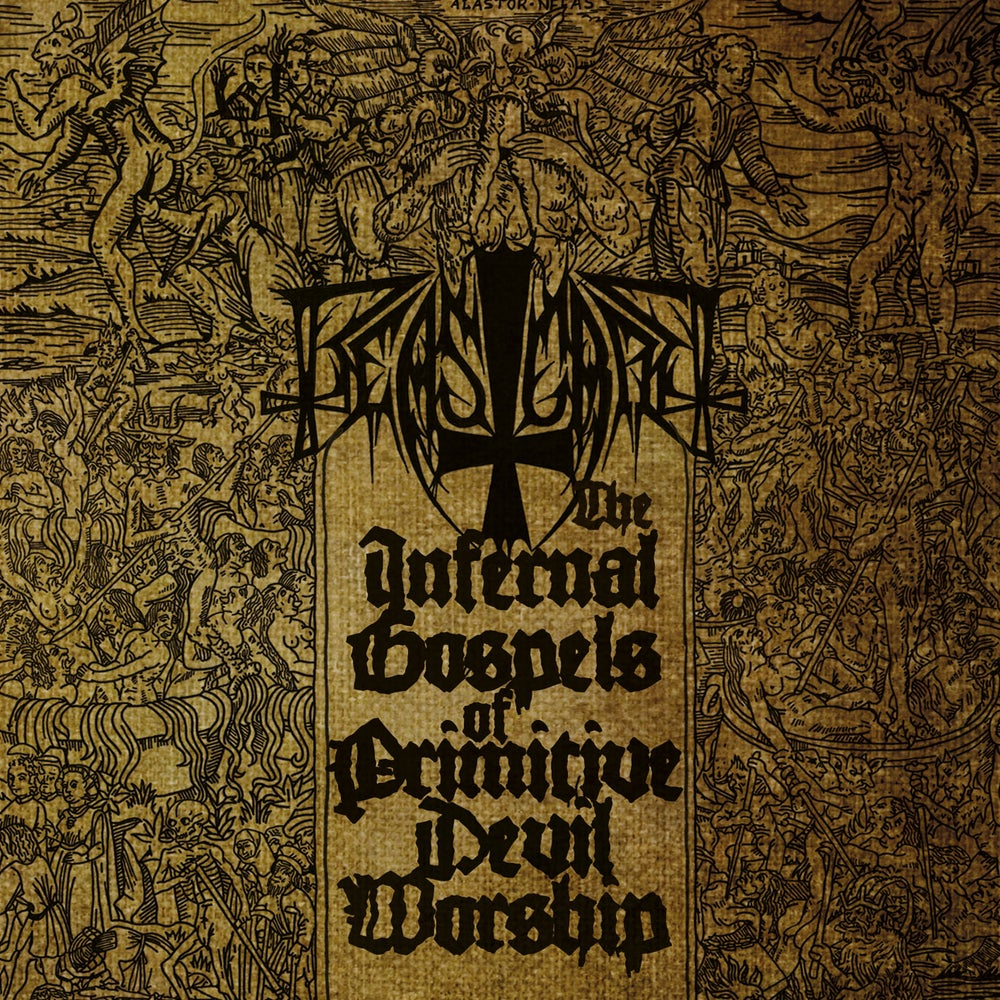 "Image of BEASTCRAFT ""The Infernal Gospels Of Primitive Devil Worship"" Gatefold LP"